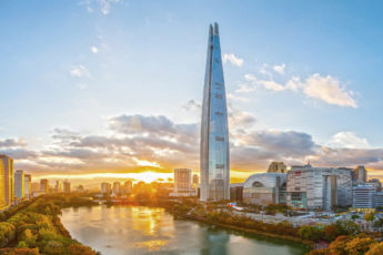 Lotte World Tower, Сеул,